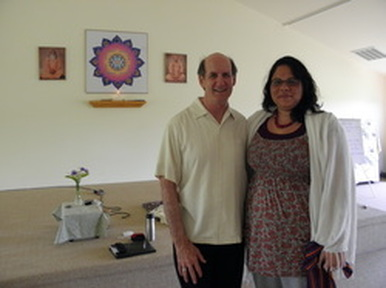 Dr. Richard Miller, Founder of iRest®, and Shira Oz-Sinai
